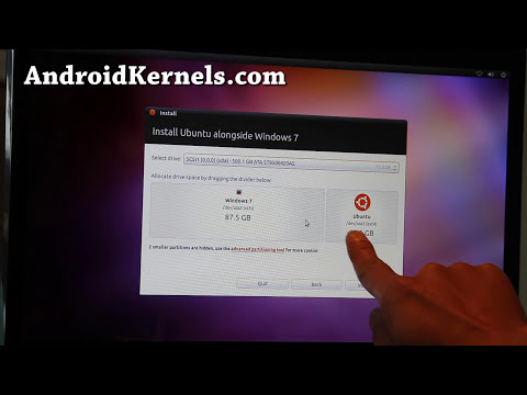 How to Install Ubuntu via USB Flash Drive on your Computer/Laptop!