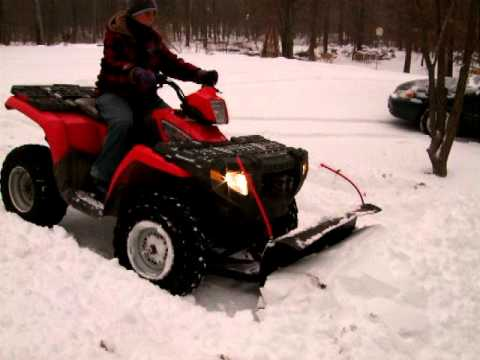2007 Polaris Sportsman 450 4wd Snow Plow