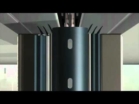 Instalaci n de paredes moviles hufcor corporaci n las 2 torres youtube - Paredes moviles ...