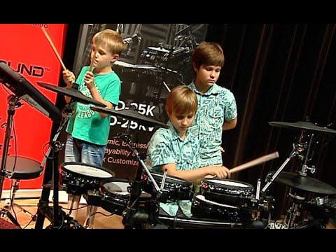 Finał  Warsztatów Perkusyjnych Dla Dzieci I Młodzieży