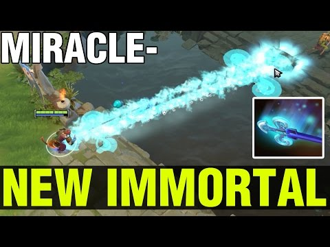 NEW IMMORTAL OF MONKEY KING !! - MIRACLE - Dota 2