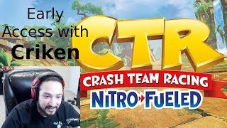 UberHaxorNova Plays Crash Team Racing Remastered
