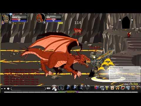 AQW-BattleMage Class Solo Boss [Review HD]