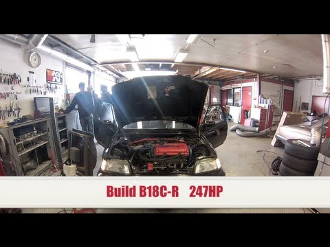 0118-Racing Build B18C-R 247hp ALL MOTOR !!!