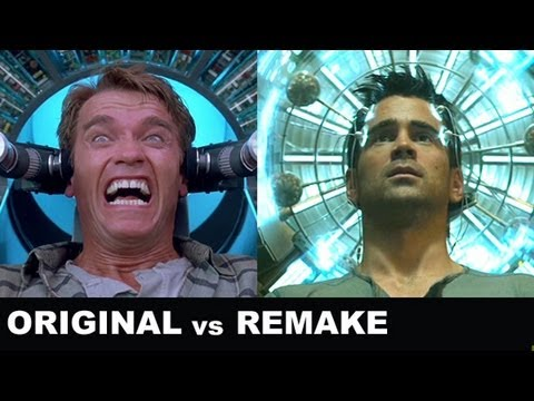 Total Recall 2012 vs 1990 : Beyond The Trailer