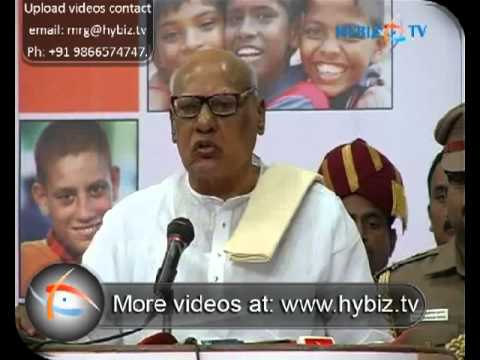 Dr. K. Rosaiah , Tamilnadu, Governor - hybiz.tv