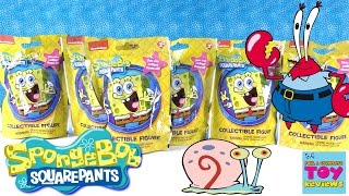 Spongebob Squarepants Collectible Figure Blind Bags Opening | PSToyReviews