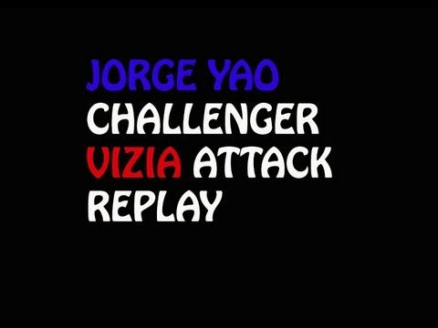 Clash of Clans Jorge yao challenger VIZIA attack replay top2 player level 30 king & arher queen