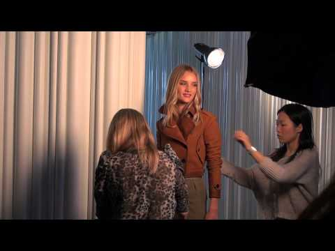 Rosie Huntington Whiteley - Behind the Scenes December 2012