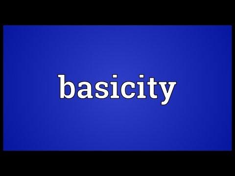Header of basicity