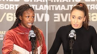 Claressa Shields vs Ivana Habazin -  FULL FINAL PRESS CONFERENCE I Showtime Boxing