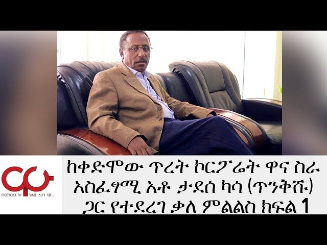 Interview With Former Tiret Corporate chief executive officer Tadesse Kassa
