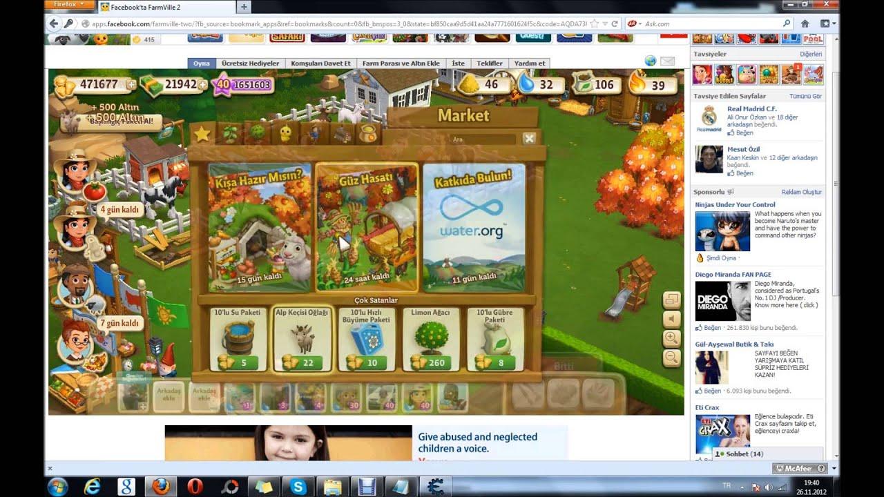 Farmville2 Biberon ve ihtiyaç hilesi - YouTube