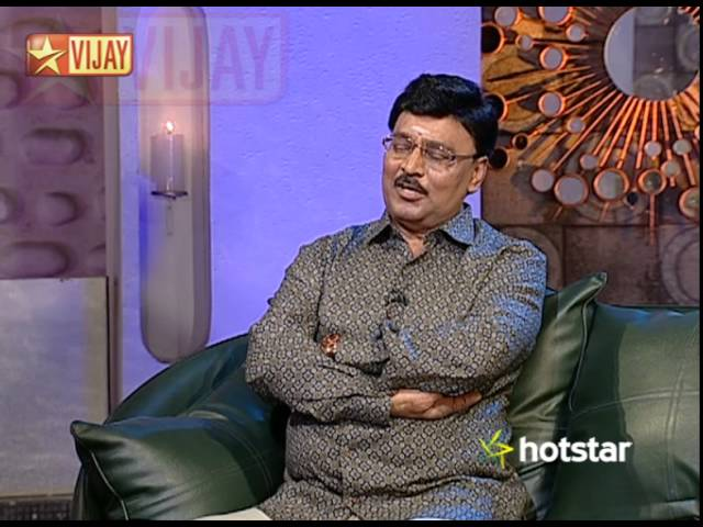 Koffee With DD - Bhagyaraj, Pandiarajan and Poornima   02/08/15