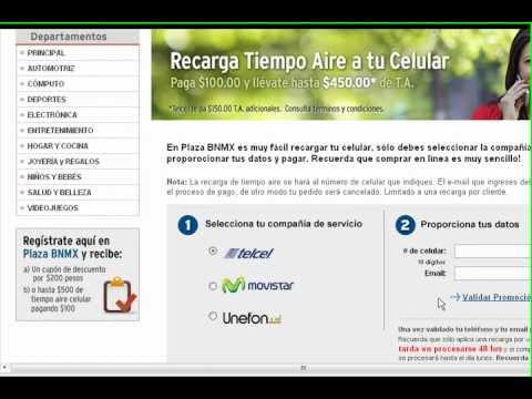 Saldo gratis para Movistar, Telcel,unefon,de 350 hasta 400 pesos gratis checalo