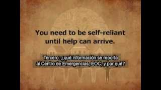 CORE Neighborhood Emergency Communications Overview (Spanish Subtitles)