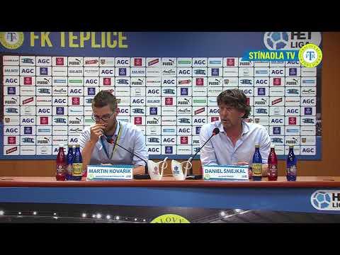 Tisková konference domácího týmu po zápase Teplice - Olomouc (29.4.2018)