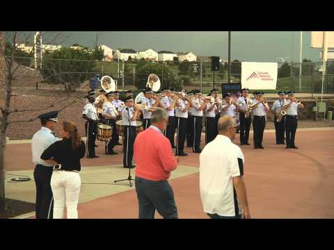 USAFA Band 'Flash Mob'