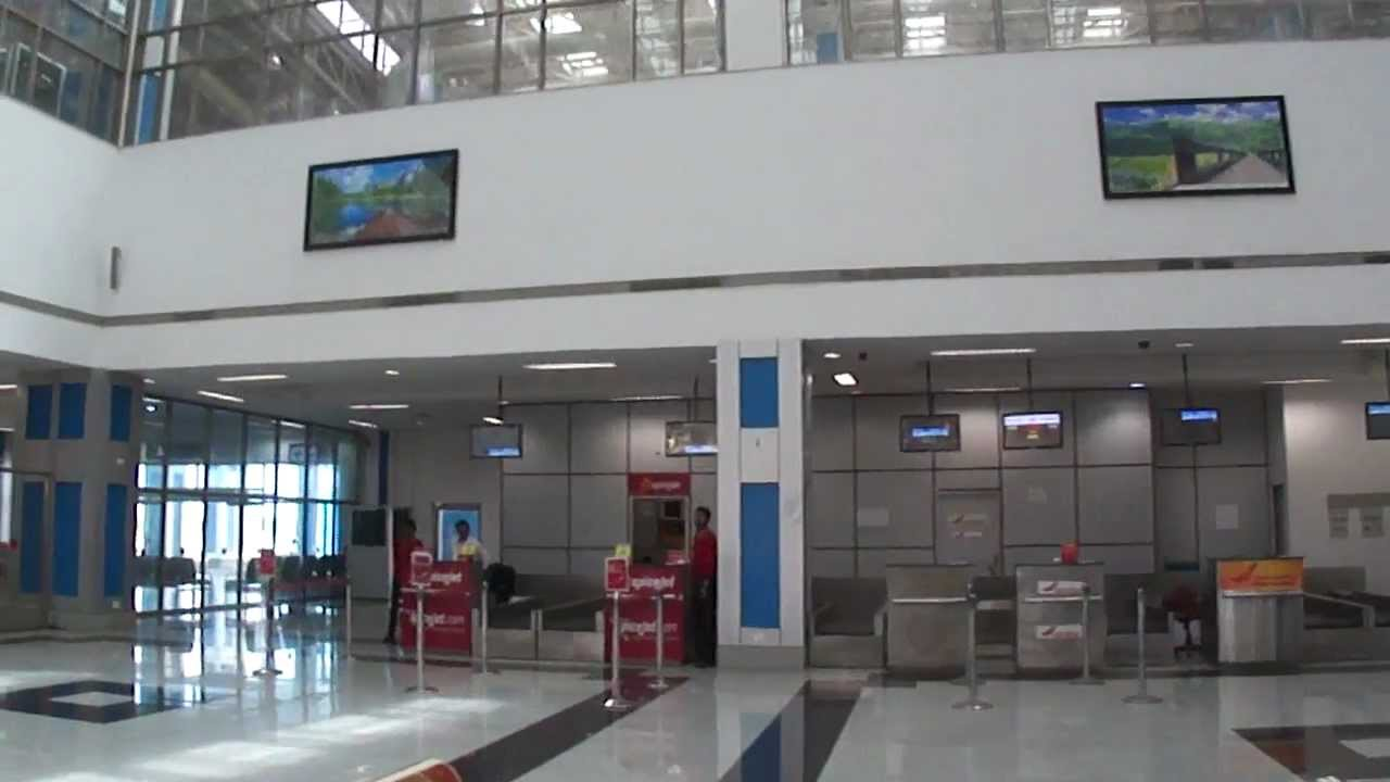 Gujarat India Airport Inside Surat Airport Gujarat