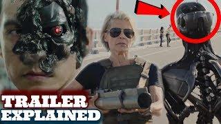 Terminator Dark Fate Trailer Breakdown +Things You Missed