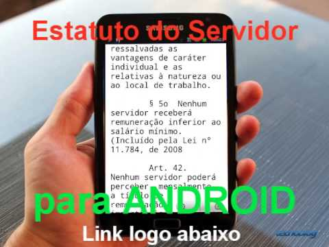 Estatuto do Servidor Público para Android