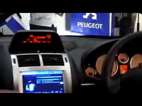 Peugeot 407 - Touchscreen LCD (Malaysia CKD)