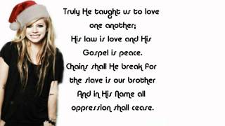 Watch Avril Lavigne O Holy Night video
