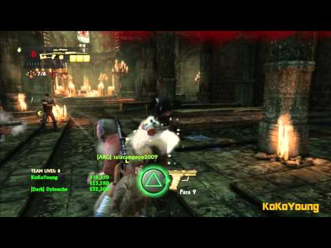 Uncharted 3 Mutiplayer - Co-op Adventure - Monastery (Crushing) [22/04/13]
