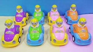 Đồ chơi trẻ em XE MINION PIN NHẠC ĐÈN - Minion Car music toys for baby