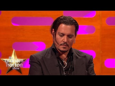 Johnny Depp Gets Emotional Talking About His Daughter's Illness - The Graham Norton Show