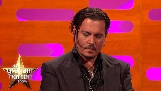 Johnny Depp Gets Emotional Talking About His Daughter