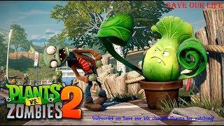 Plants vs. Zombies 2 Every Premium Plant Power Up!