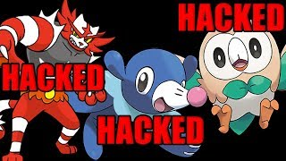Why Non Pokeball Gen 7 Starters Are ALWAYS HACKED