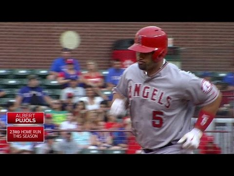 LAA@TEX: Pujols puts Angels on board with solo jack