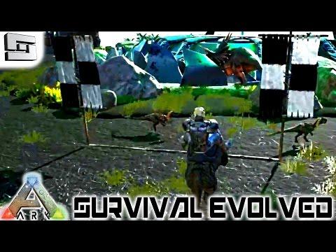 ARK: Survival Evolved - SABERTOOTH TIGER RACE! E38 ( Gameplay )