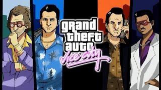 Grand Theft Auto: Vice City All Cutscenes (Game Movie) PC 1080p 60FPS