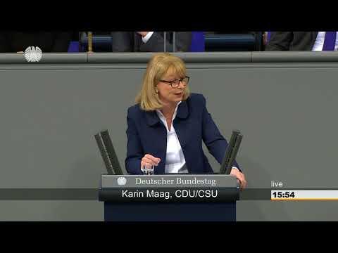 Karin Maag: Gesundheit [Bundestag 23.03.2018]