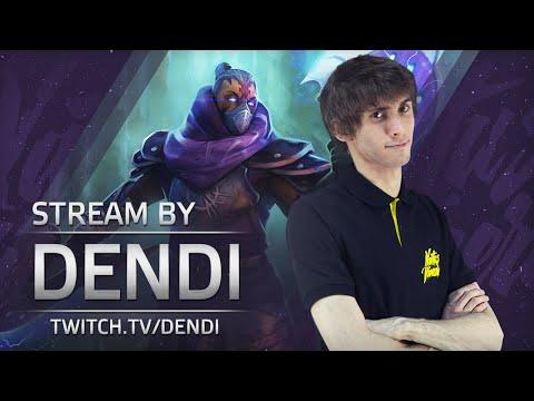 Dota 2 Stream: Na`Vi Dendi playing Anti-mage (Gameplay & Commentary)