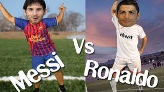 MESSI VS. CRISTIANO RONALDO