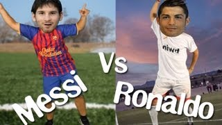 MESSI VS. CRISTIANO RONALDO, im sexy and i know it! LMFAO