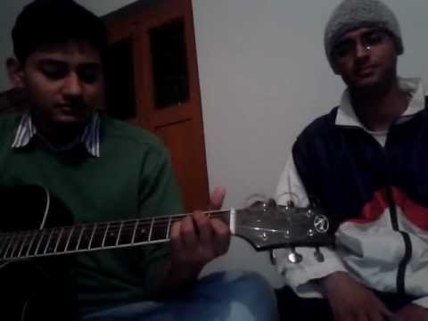 Tum bin jaun kahan acoustic cover by Anuvind and Vaibhav