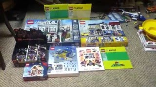 Big lego christmas haul