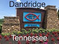 Touring Anchor Down Camping Resort in Dandridge, Tennessee