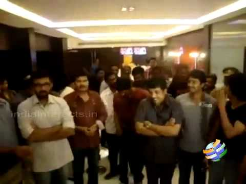 Vijay Watches Nanban with Fans