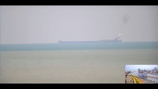 JAMES R BARKER Freighter Heading South to Indiana Harbor 11.30.19 -South Haven