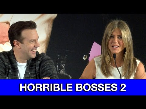 Horrible Bosses 2 Interviews - Jennifer Aniston, Jason Bateman, Jason Sudeikis & Charlie Day