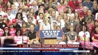 13 Yr. Old Faith Graham Delivers Epic Takedown of Hillary Clinton at Trump Phoenix Rally