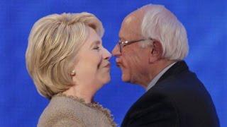 Hillary Clinton x Bernie Sanders