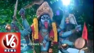 Telangana Traditional Pothuraju Dance - Lashkar Bonalu