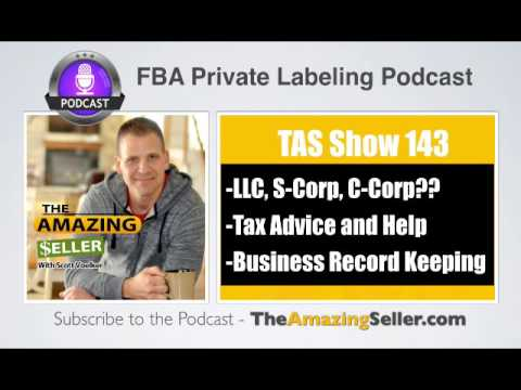 TAS 143 : Killer Tax Tips And What Business Type To Form – L